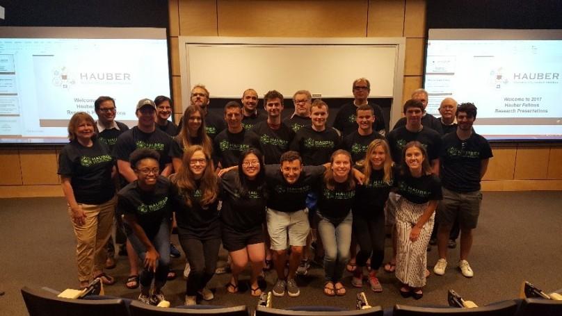 Hauber Fellows and Mentors 2017