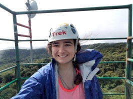Marisa Gochie '19 in Costa Rica