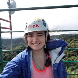 Marisa Gochie '19 in Costa Rica