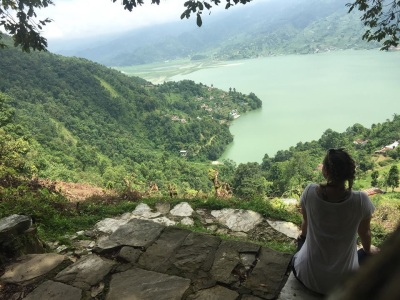 Jillian Skerchak '19 in Nepal