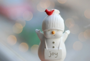 Holiday Joy Snowman